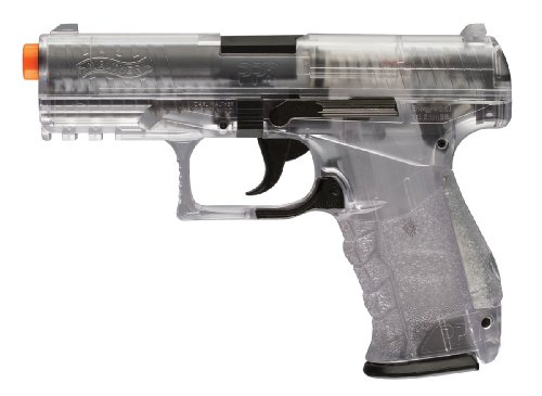 Walther PPQ 6mm  Spring Airsoft Pistol, Clear