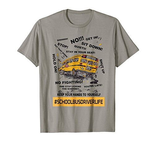 School Bus Driver Life Funny T-Shirt