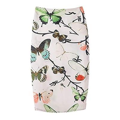 TWGONE Bodycon Skirt For Women Knee Length Ladies Summer Trend Bag Hip Midi Pencil Skirt
