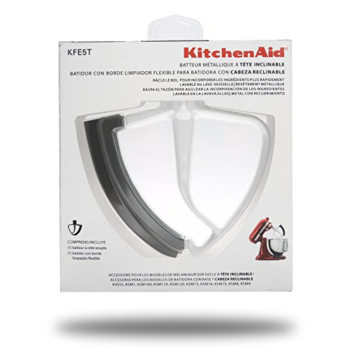 KitchenAid KFE5T Flex Edge Beater for Tilt-Head Stand Mixers