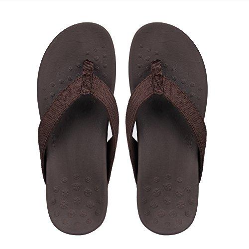SESSOM&CO - Sandalias de vestir para mujer marrón