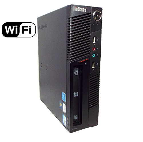 Lenovo ThinkCentre M91p Desktop Computer - Intel Quad Core i5-2400 3.10 GHz, 4GB Memory, 500GB HDD, DVD Windows 10 Professional (Renewed) from Lenovo
