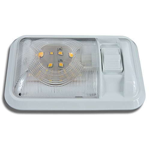 12v Led Rv Ceiling Dome Light Rv Interior Lighting For Trailer Camper With Switch Single Dome