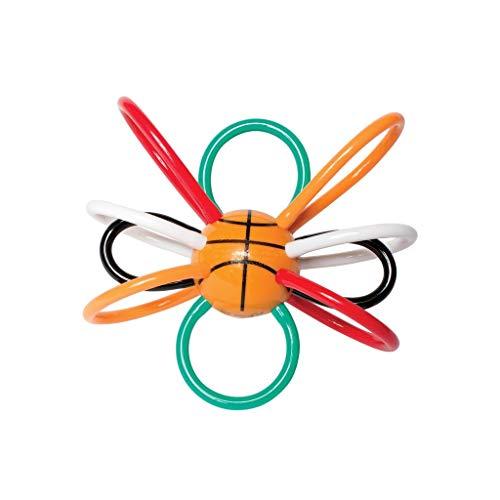 - Manhattan Toy Basketball Winkel Rattle & Sensory Teether Baby Toy