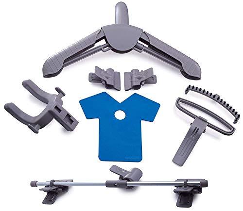 PurSteam Elite Garment Steamer, Heavy Duty Powerful Fabric Steamer with Fabric Brush and Garment Hanger