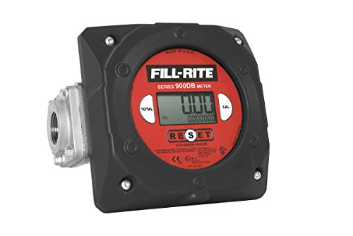 Npt Outlet (Fill-Rite 900CD1.5 Digital Display Meter, 1-1/2