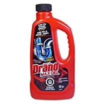 Drano max gel clog remover, 900 Milliliter