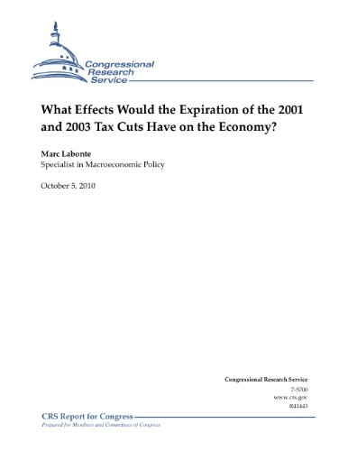 What Effects Would the Expiration of the 2001 and 2003 Tax Cuts Have on the Economy?