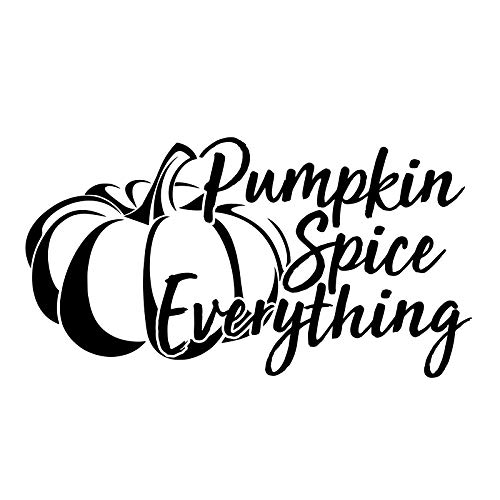 (Bargain Max Decals Pumpkin Spice Everything Decal Notebook Car Laptop 5.5
