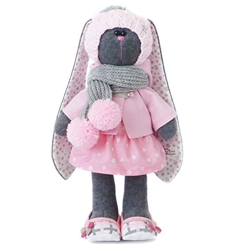 Easter bunny doll 14.5 inches, Plush toy, Handmade by ZuzuHappyToys (2)