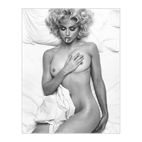 Madonna Bad Girl Music Pop Super Star Art Poster Print Wall Decor 24x36 Inches Photo Paper Material Unframed