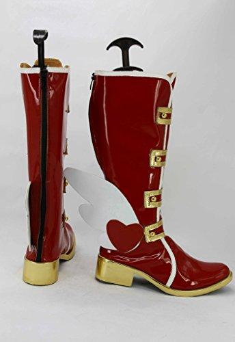 Hou Van Het Leven! Love Live Happy Valentines Day Chocolate Hoshizora Rin Cosplay Shoes Schoenen Op Maat Gemaakt