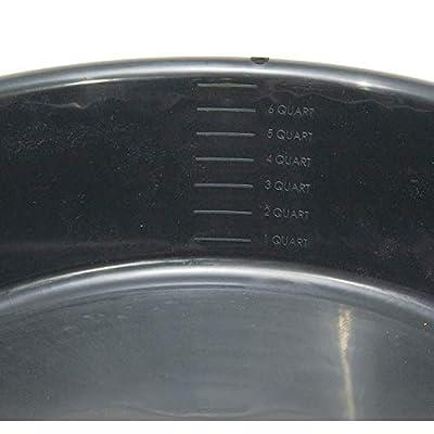 Hopkins FloTool 7-Quart Drain Pan Bundle with FloTool Oil Jug: Automotive