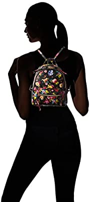 T-Shirt & Jeans Floral Back Pack With Studs