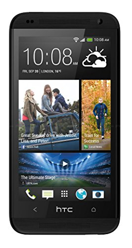 HTC Desire 610 8GB Unlocked GSM 4G LTE Quad-Core Android 4.4 Smartphone – Black (No Warranty)