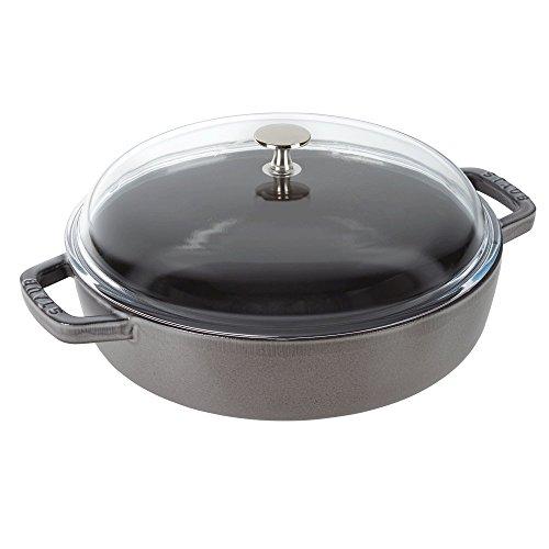 Staub Universal Pan, Graphite Grey, 4 qt. by Staub