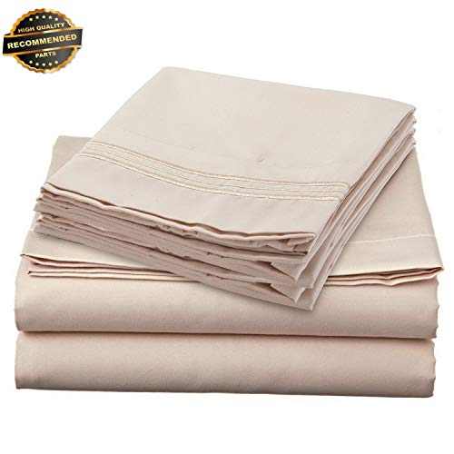 Gatton Premium New 1700 Series DEEP Pocket 4 Piece Bed Sheet Set - 19 Colors Available in Collection ()