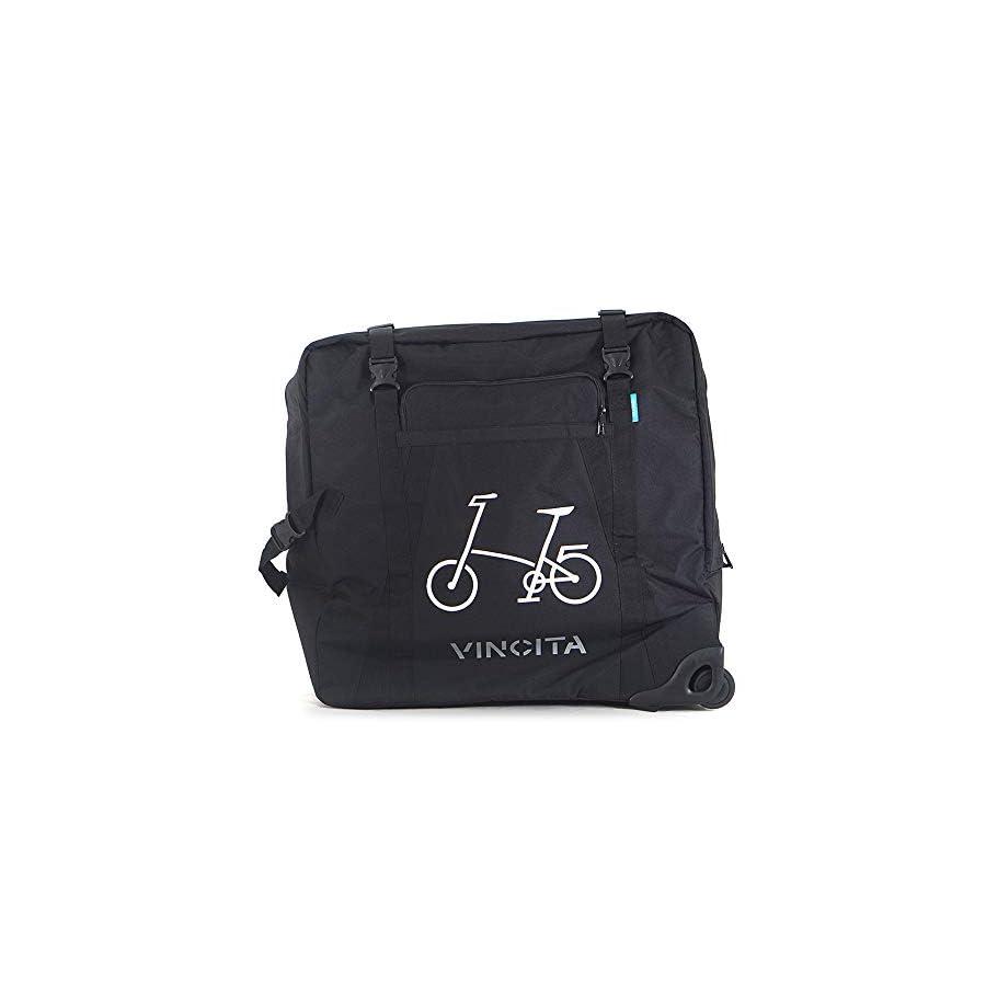"""Vincita Soft Transport Bag with Wheels for 20"""" Folding Bike"""