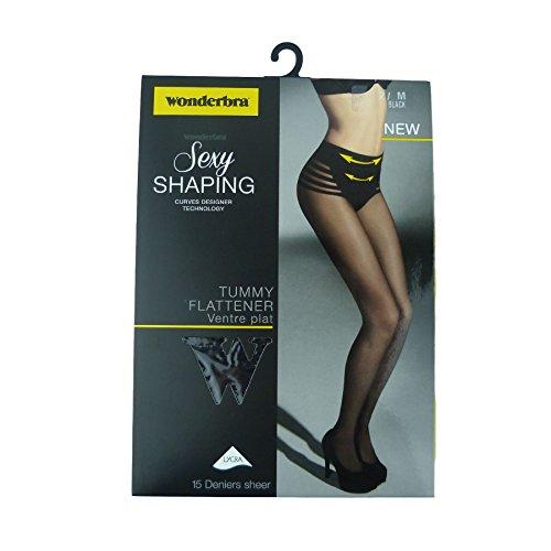 wonderbra-sexy-shaping-tummy-flattener-with-built-in-15-denier-sheer-tights-w00lx-m-10-12-black-w00l
