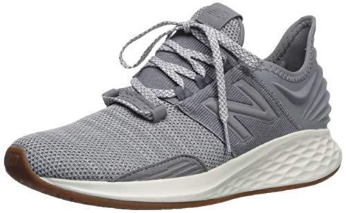New Balance Women's Roav V1 Fresh Foam Running Shoe ,GUNMETAL/LIGHT ALUMINUM , 8 M US