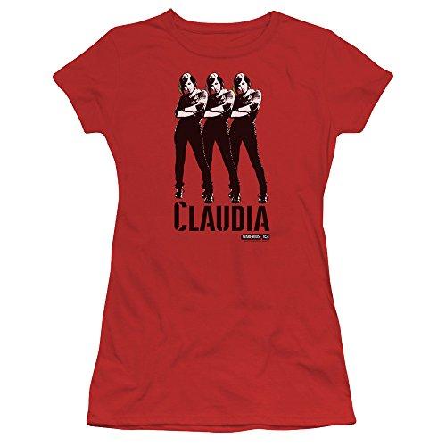 Warehouse 13 Science Fiction Fantasy Tv Series Claudia Juniors Sheer T Shirt Tee