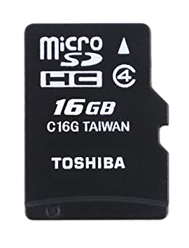 Toshiba High Speed Standard - Tarjeta microSD de 16 GB (Clase 4 ...