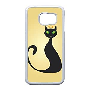 Designed High Quality Lovely Cat Image , Only Fit Samsung Galaxy S6 Edge