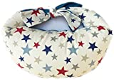 Classic Stars with Blue Portable Breastfeeding Pillow
