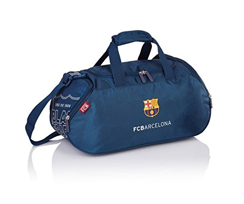 FC Barcelona The Best Team 5 Gym Tote, 48 cm, 33 liters, Blue (Navy Blue) 506017004