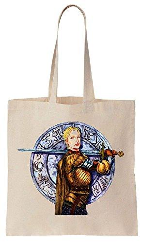 Brienne of Tarth Sword Sacchetto di cotone tela di canapa