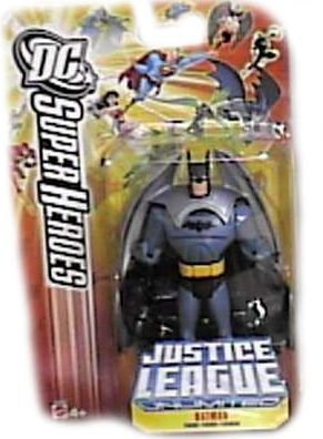(DC Super Heroes: Justice League Unlimited Batman (with Batwings, Yellow Card) Action Figure)
