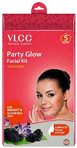 VLCC Party Glow Facial Kit Salon Series Complete Facial System