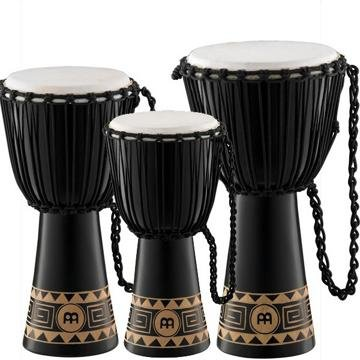 Meinl Percussion HDJ1-L Congo Series Headliner Rope Tuned Djembe, Large: 12-Inch Diameter by Meinl Percussion (Image #1)