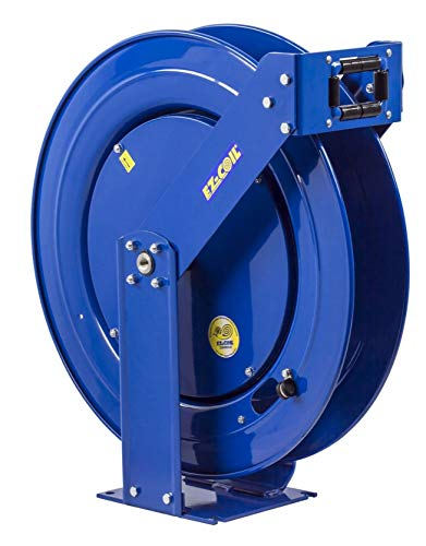 "Coxreels EZ-T-BHL-3100 Safety Series, Supreme Duty, Spring Rewind, Hose Reel for breathing air and clean fluid: 3/8"" I.D., 100"