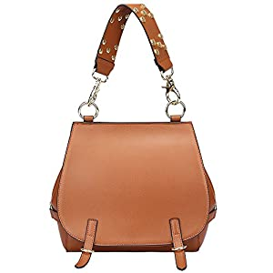 On Clearance - S-ZONE Women's Leather Handbags Purse Shoulder Crossbody Bags