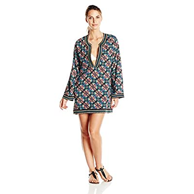 Nanette Lepore Women's Paloma Embroidered Tunic Cover Up supplier