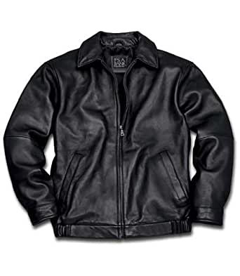 New jos a bank lambskin bomber jacket black x large for Jos a bank shirt review