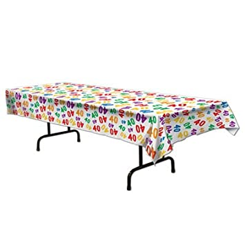 Beistle 40-Inch Tablecover