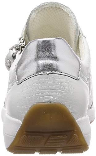 Basse Ara 07 Osaka Scarpe Da Bianco Silber weiss Donna 1234587 Ginnastica HqaHS