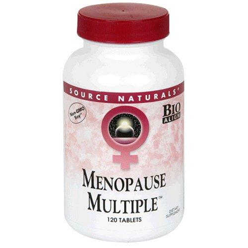 Plusieurs ménopause Source Naturals, 120 Comprimés