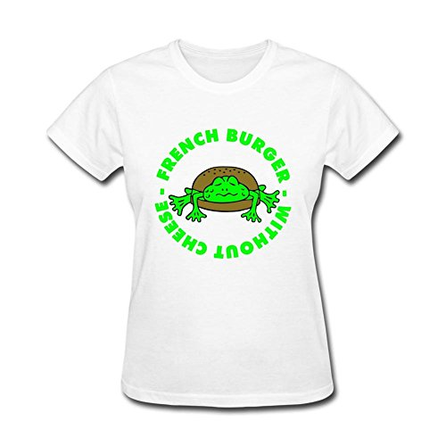 Women's 3 Col French Frogburger Short Sleeve T-Shirt