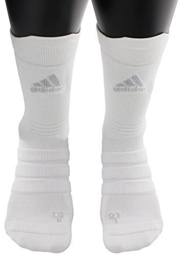 Adidas Tennis Socks Crew (adidas Alphaskin Ultralight Crew Socks (1-Pack), White, 9.5-12)