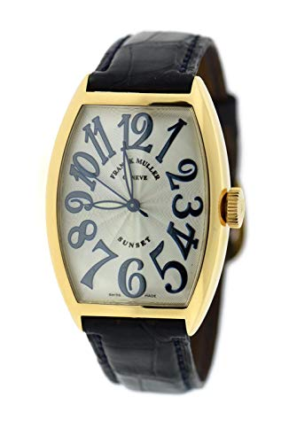 Franck Muller Cintree Curvex Automatic-self-Wind Male Watch (Certified Pre-Owned)