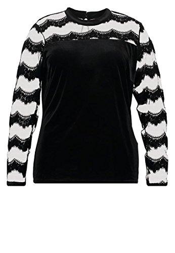 JUNAROSE JRFUNDA - Langarmshirt - black Grösse XL