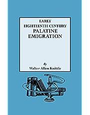 Early Eighteenth Century Palatine Emigration