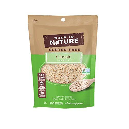 Back to Nature Gluten Free, Non-GMO Classic Granola, 12.5 Ounce (Pack of 6)