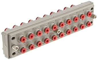 """SMC KDM20-03 PBT Multi-Connector for Tubing, 5/32"""" Tube OD, 20 Connecting Tubes"""