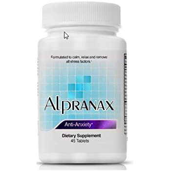 Alpranax Herbal Relaxation and Stress Reduction Supplement -- Natural Stress Management Pills with Ashwagandha -- Improve Mood - Calm the Mind - Reduce ...
