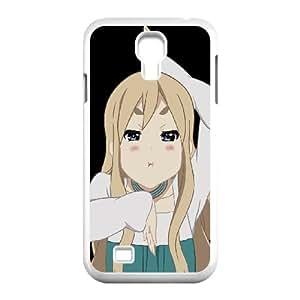 Tsumugi Kotobuki K El Samsung Galaxy S4 9500 Contraportada Blanco caja del teléfono celular de la cubierta EVAXLKNBC07098