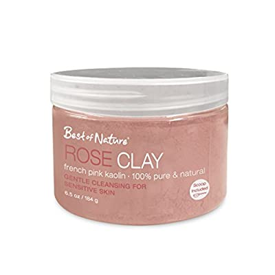 Rose Clay: French Pink Kaolin 6.5oz / 184g from Best of Nature